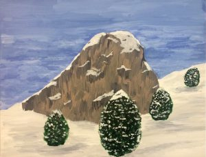 Wintergebirge